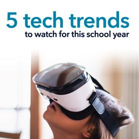 Las 5 tendencias tecnológicas de ISTE para observar este año escolar
