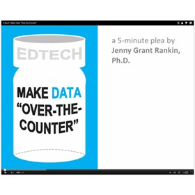 Make student data over-the-counter