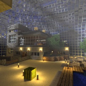 Minecraft 101: The Underwater Dome Project