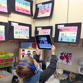 Help the littlest learners share their work in 5 easy steps