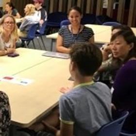 Students teach parents about social media