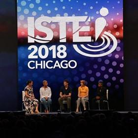 La conferencia ISTE trae a miles de educadores a Chicago para ver lo último en Edtech