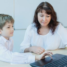 Family tech nights can narrow the digital divide