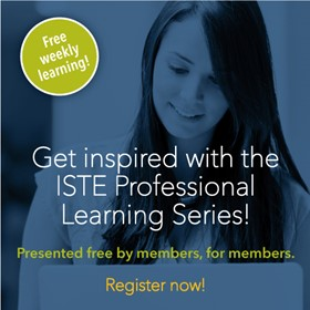 2015 ISTE Professional Learning Series