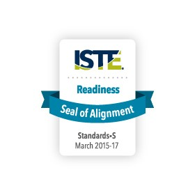 ISTE Seal of Alignment awarded to 21Things4Students