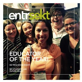 Smile! You made the cover of entrsekt magazine