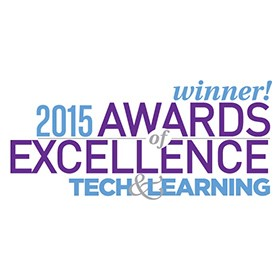 ISTE Lead & Transform Diagnostic Tool wins 2015 Award of Excellence from Tech & Learning magazine