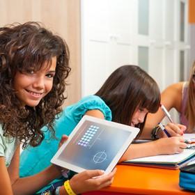 Middle school students dispel technology myths