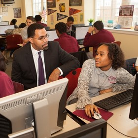 Find out what the U.S. ed secretary thinks about ed tech, testing and digital equity