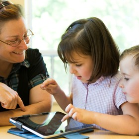 The magic in educational transformation does not come from devices