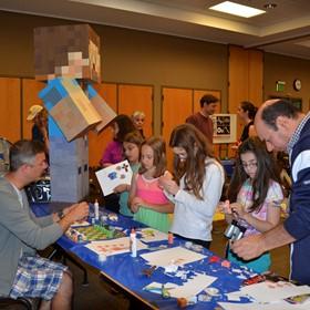 Minecraft + scrum = active, engaged literature circles