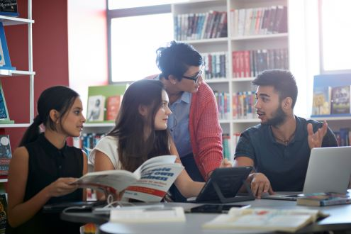 The Digital Learning Center, designed to create world class thinkers, offers integrated thematic units in a student-centered classroom that allows for deep levels of differentiation.