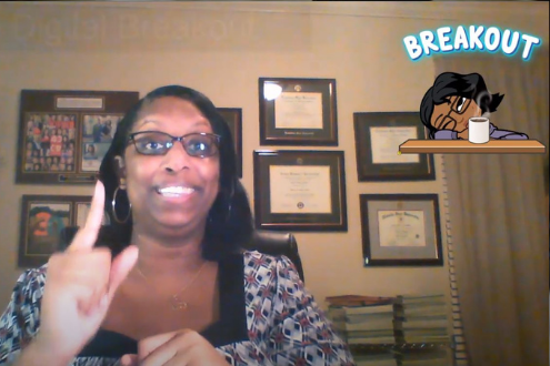 Desiree Alexander shares a lesson in a video.