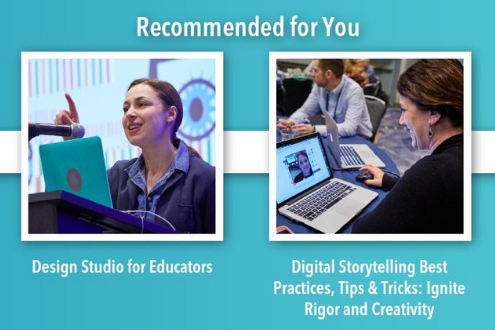 Recommendation engine of the ISTE20 Live Platform