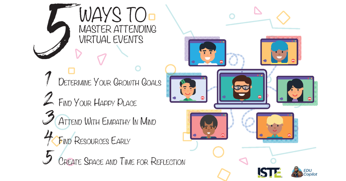 5 Ways to Master Education Virtual PD Events   ISTE