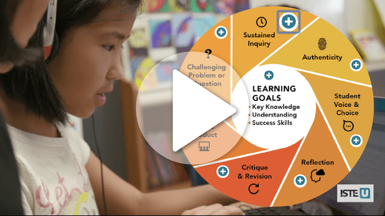 Leading Project-Based Learning With Technology | ISTE U Course Trailer