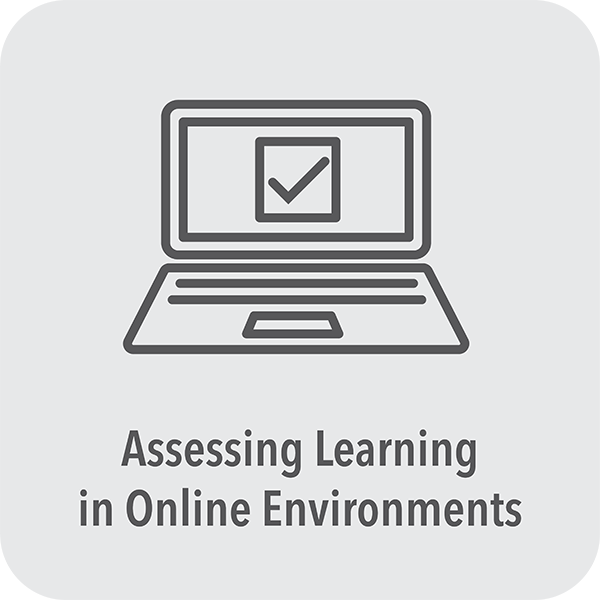 Assessing learning in online environments