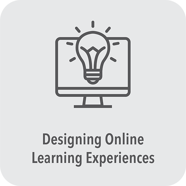 Designing online learning experiences