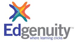 Logotipo del catálogo de aprendizaje profesional de Edgenuity